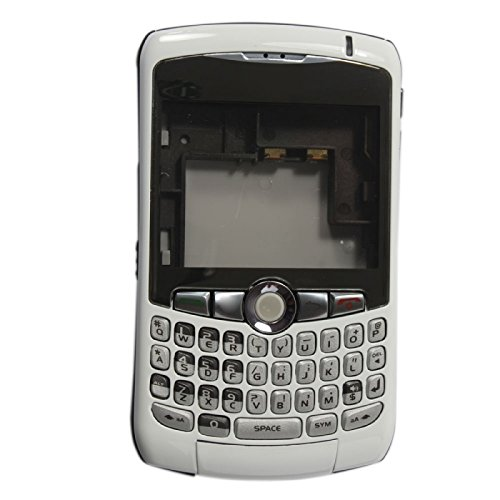 Full Housing and Keypad for BlackBerry Curve 8300 8310 8320 White + Free Tools