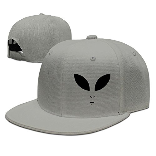 Costume Alien Best (MaNeg Alien Face Unisex Fashion Cool Adjustable Snapback Baseball Cap Hat One Size)