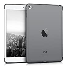 kwmobile Crystal Case (smartcover compatible) for Apple iPad Mini 4 - TPU Silicone Case Protective Case in black transparent