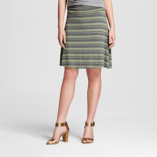 Womens A-line Knit Skirt - 6