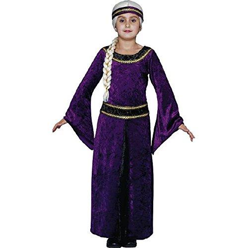 (Purple Guinevere Renaissance Child's Costume (Size: Small)