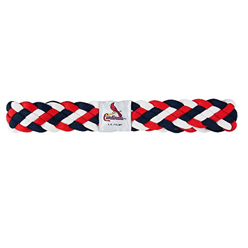 St. Louis Cardinals MLB Braided Head Band 6 Braid