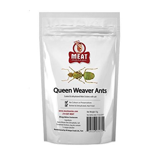 Meat Maniac Salted Queen Weaver Ants