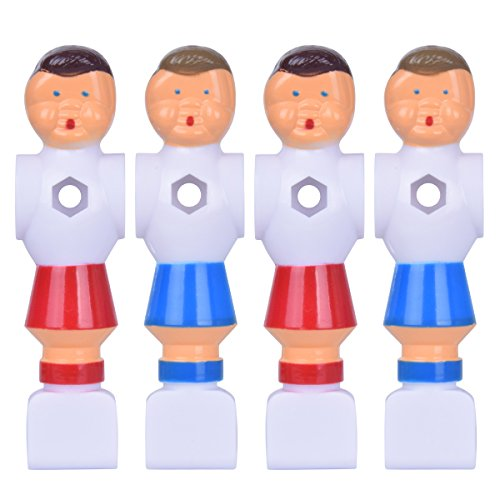 Hotusi 4Pcs Rod Foosball Soccer Table Football Men Player Replacement Parts - Rod Soccer