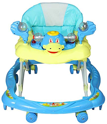 ODELEE Ducky Baby Walker for Kids (Sky Blue)