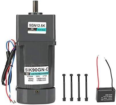SSY-YU 減速機モーター、AC 220V 90W電気CW /機械自動包装食品機械用コンデンサとCCWモーターギア削減モーター(12.5K) 電動工具用