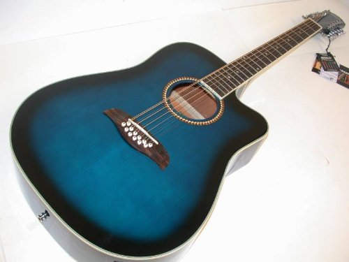 Oscar Schmidt by Washburn 12 String Acoustic/Electric Guitar