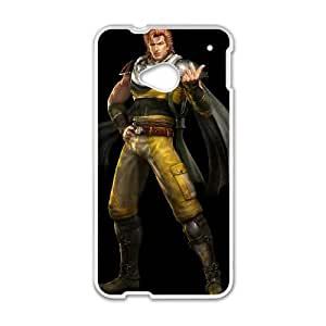 HTC One M7 Cell Phone Case White Fist Of The North Star Q0289348
