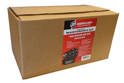 MERCURY OEM 300 Hour Maintenance Kit for 40, 50, 60 HP EFI Outboards ()