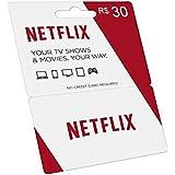 Cartão Pré-pago Netflix R$ 30 Reais Gift Card
