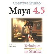 Maya 4.5 -tech. de studio cd
