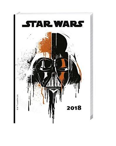 Star Wars 17-Monats-Kalenderbuch A6 - Kalender 2018: 17 ...