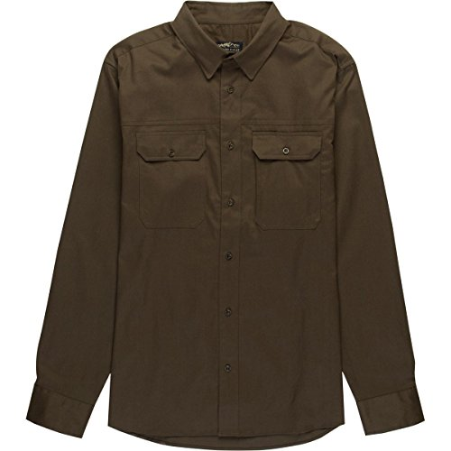 United By Blue Holt Long-Sleeve Work Shirt - Men's Olive, - Holt Olive