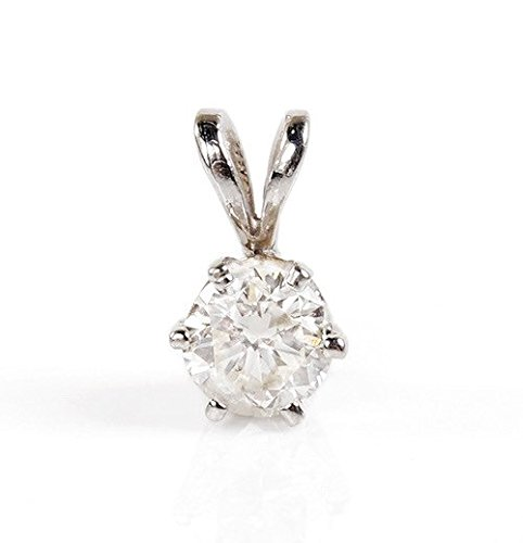 0.4 Ct Womens Diamond - 3