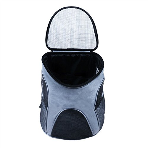 CharaVector Premium Pet Carrier Backpack for Small Cats and Dogs by, Dog Travel Shoulders Bag with Mesh Window for Pet from 6-15 Pounds