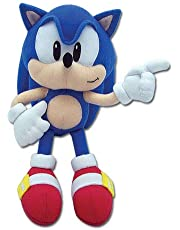 Sonic The Hedgehog Great Eastern GE-7088 - Peluche sónico clásico