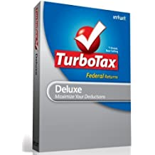 TurboTax Deluxe Federal + E-File 2012 [Old Version]