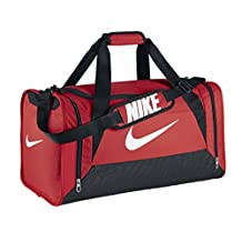 Nike Brasilia 6 Medium Duffel 611.CRIMSON/BLK N/A