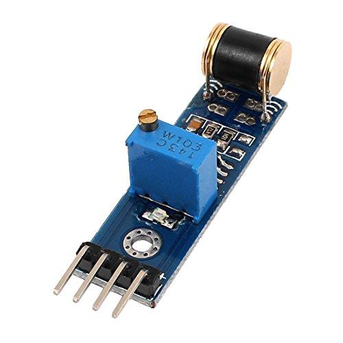 uxcell Robot Kits Analog Output Vibration Detection Sensor Module for Arduino