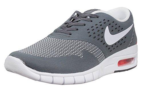 Nike Men's Eric Koston 2 Max Running Shoe COOL GREY/TOTAL ORANGE/WHITE 7.5 D(M) US For Sale