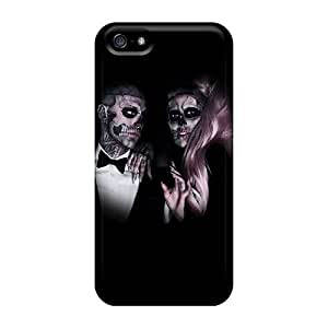 LJF phone case First-class Case Cover For Iphone 5/5s Dual Protection Cover Born This Way