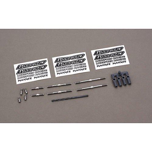 (LUNSFORD RACING 12200 Super Duty Titanium Turnbuckle Kit)