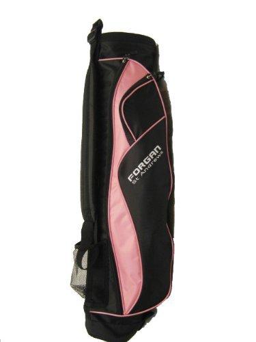 Forgan Pink & Black Ultra Light Golf Carry Bag NEW [Misc.] (Renewed)