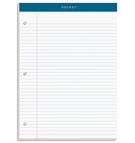 TOPS Docket Writing Pad, 8-1/2