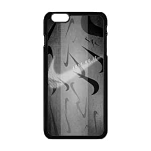 """NIKE JUST DO IT Classic Design Print Black Case With Hard Shell Cover for Apple iPhone 6 Plus 5.5"""" Kimberly Kurzendoerfer"""