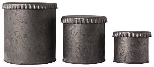 galvanized pail with lid - 5