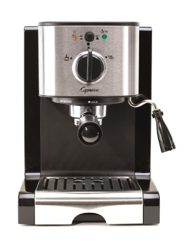 Capresso 116.04 Pump Espresso and Cappuccino Machine EC100,