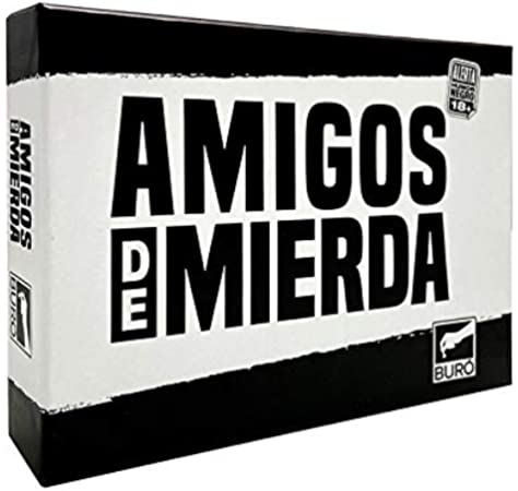 GENX Amigos de Mierda - Juego de Cartas [Castellano]: Amazon.es ...
