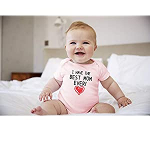 Gift for Dad – Our First Father's Day Baby Bodysuit Daddy Infant Onesies 100% Cotton