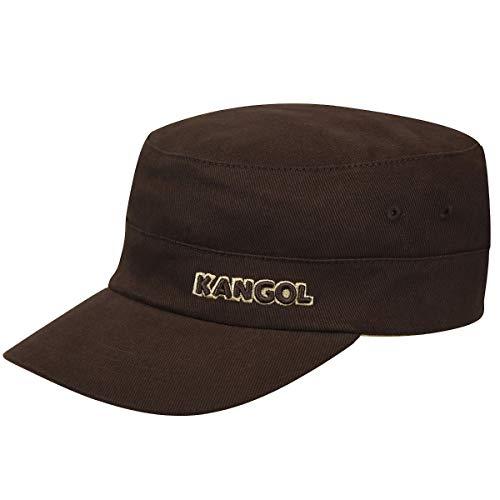 - Kangol Unisex-Adult's Cotton Twill Army Cap, Brown, XXL