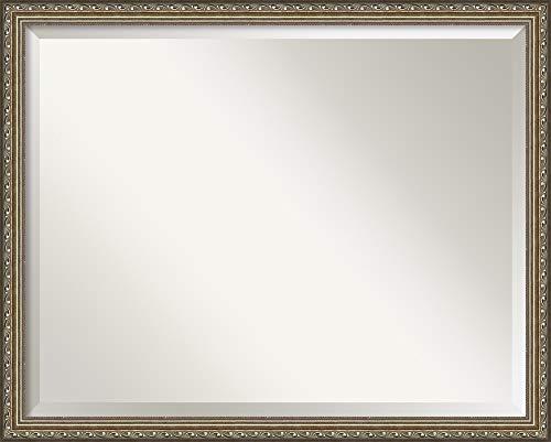 Amanti Art Framed Vanity Mirror | Bathroom Mirrors for Wall | Parisian -