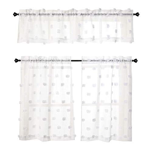 Duck River Rivietta Floral Linen 3 Piece Kitchen Curtain: Kitchen Curtains Features And Coupon Codes