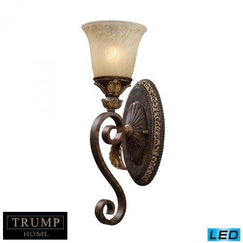 Elk Lighting 2150/1-LED Wall Sconce, Burnt Bronze