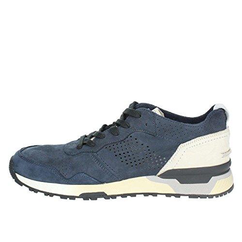 11426KS1 40.Sneaker in Pelle Uomo.Blu.40