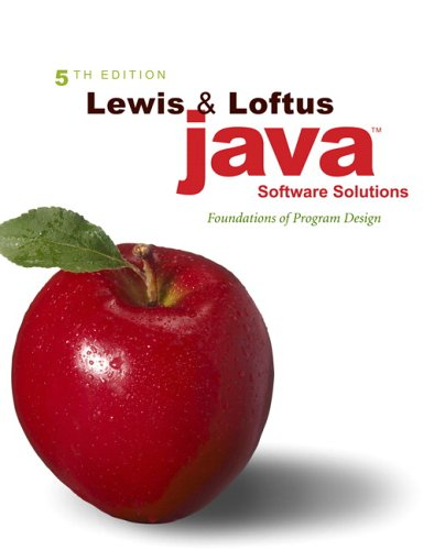 java software solutions lewis - 4
