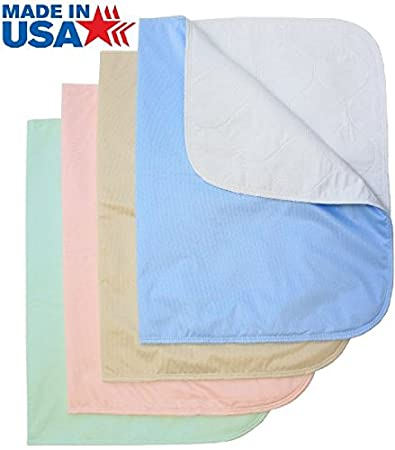 Washable Bed Pads Chair Pads / Incontinence Small Underpad   18x24   4 Pack