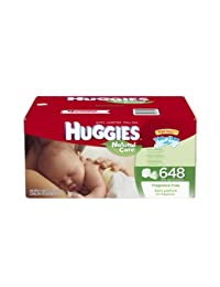 Huggies Natural Care Fragrance Free Baby Wipes Refill, 648 Count (Packaging may vary) BOBEBE Online Baby Store From New York to Miami and Los Angeles