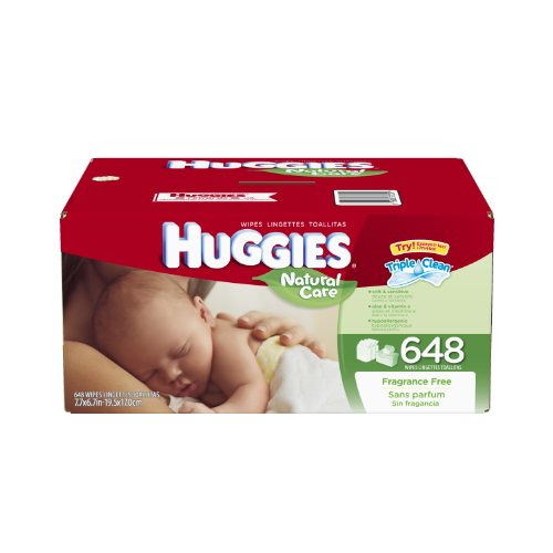 Huggies Natural Fragrance Refill Packaging