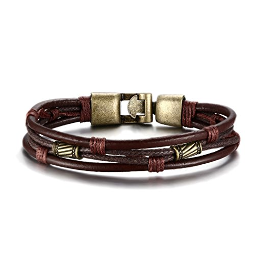 red-dandelion-fashion-high-quality-cool-genuine-leather-braided-rope-wistband-men-bracelet