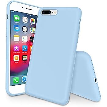 Amazon.com: Miracase iPhone 8 Plus Silicone Case, iPhone 7 ...