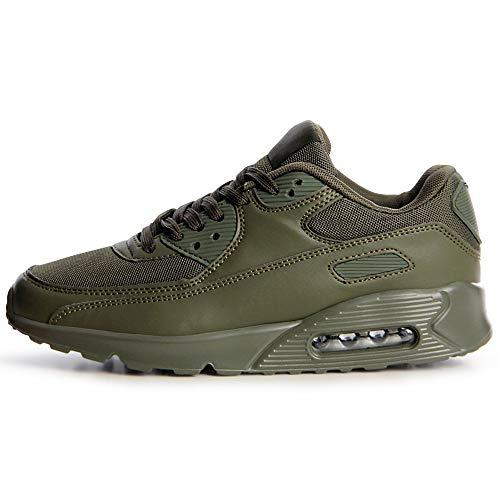 Olive Femmes Sneaker Sport De Vert Topschuhe24 Chaussures xTfq8R6X