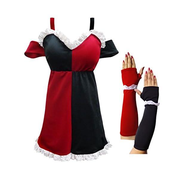 Sanctuarie Designs Harley Quinn Plus Size Supersize Halloween Costume