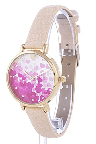 Pink Beaded Watch - 4