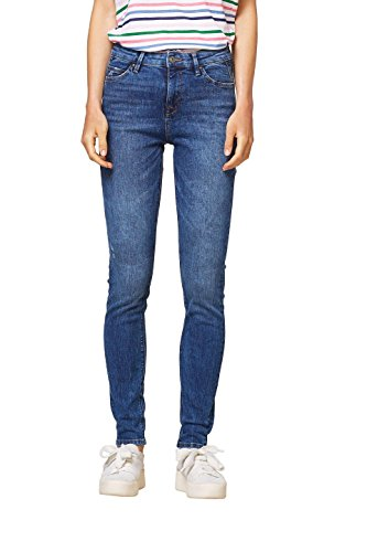 Jean edc 902 by Skinny Medium Bleu Wash Femme Esprit Blue 1OEBwrxO