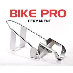 BIKE PRO Motorcycle Wheel Chocks-Chrome Permanent Chock 20126