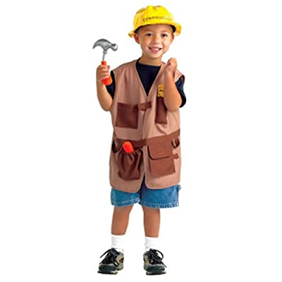 World Fabric Community Helper Construction Worker Dramatic Dress Up